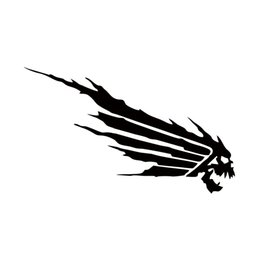 $enCountryForm.capitalKeyWord NZ - 2017 Hot Sale Personality 2x Car Decal Funny Skull Wings Car Vinyl Reflective Waterproof Reflective Stickers Jdm