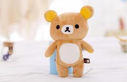 $enCountryForm.capitalKeyWord Canada - 1pcs 20cm mini lovely New brown San-x Rilakkuma Relax Bear Cute Soft Plush Stuffed Toys Best Gifts for Kids