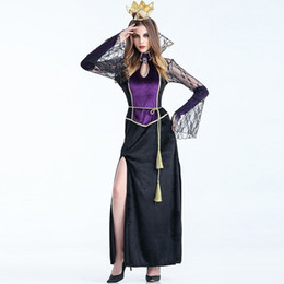 Fairy Tales Evil Queen Costume for Women New Arrival Halloween Carnival Luxurious Fashion V&ire Cosplay Dress Stage Costume XL W880329  sc 1 st  DHgate.com & Evil Costume Women NZ | Buy New Evil Costume Women Online from Best ...