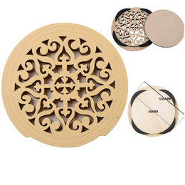 Block Sounds NZ - Carved Wooden Acoustic Guitar Sound Hole Cover Antilarsen Exclusive 41Inch Guitar Sound Hole Block Guitar Accessories