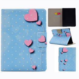Discount kindle 6 case PU Leather Tablet Case For New Kindle 2016 Cover Filp Stand Painting Wind chime Love balloon Dormancy Sleep Wake Functio