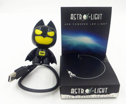 batman lighting 2019 - 60pcs USB Portable Laptop LED Superhero cool Batman Night Light Lamp Emergency Table PC Computer Notebook Desktop 0001 c