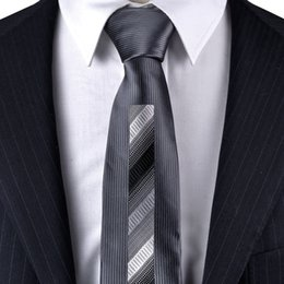Slim tie - Woven Jacquard silk in solid red Notch xSMYgKwXD