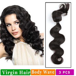 Doing hair online shopping - Body Wave Braid Human Hair Extensions Do Not Cut Weft To Weave Into Your Own Hair