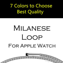 $enCountryForm.capitalKeyWord Canada - 38mm 42mm Original Link Bracelet strap  Milanese Loop watchbands Stainless Steel band for apple Watch band For Apple iWatch Series 4 3 1 2