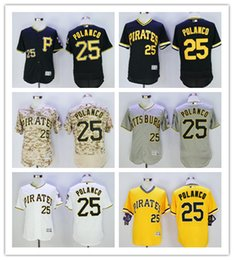 mens 2016 flexbase pittsburgh pirates jersey 25 gregory polanco camo grey white black yellow pullover stitched