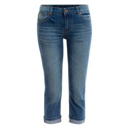Discount Plus Size Denim Capri Pants | 2017 Plus Size Denim Capri ...