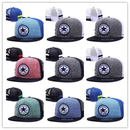 $enCountryForm.capitalKeyWord NZ - Top Selling Men Women Snapback Mesh Cap Hip Hop Hat Outdoor Sports Casual Snap Back Baseball Hat Conveser All Star Logo Hat Diplomats