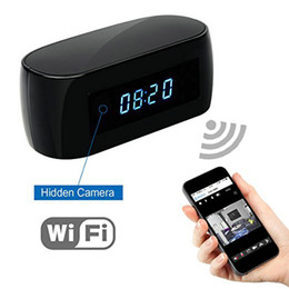 Discount videos free - HD 1080P Wifi Camera with Time display Electronic Clock DV Camcorder P2P Motion Detection Mini IP Camera Video Recorder