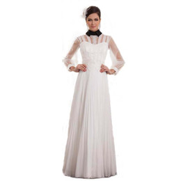 $enCountryForm.capitalKeyWord UK - 2017 Special Design High Neck Long Sleeve Wedding Dress Luxury Style Lace Beaded Bridal Fashion Gown