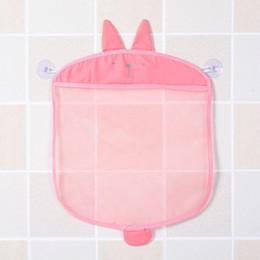 $enCountryForm.capitalKeyWord Canada - 1 Pcs Lovely Storage Bath Bag Folding Eco-Friendly Baby Bathroom Mesh Bath Toy Storage Bag Baskets For Living Room Collection