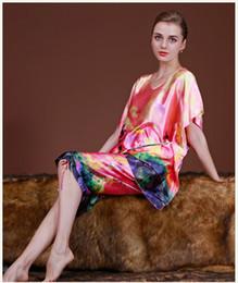 Silk Pyjama Sexy Canada - Satin pajama sets pyjamas women sexy lingerie silk  pajamas woman sleepwear cf3e84c88