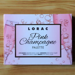 makeup lorac Australia - DHL Lorac Pink Champagne Palette Sets 7 Colors Eyeshadow Brands Makeup Eyes Shadow Blush Cosmetics Tools Kits