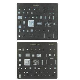 Iphone 7 и Iphone 7 плюс прямого нагрева BGA реболлинга трафарет завод олова сетки ремонт сварочные инструменты на Распродаже