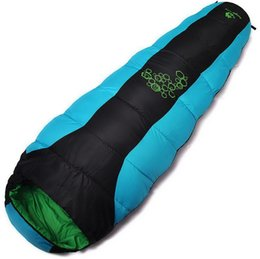 $enCountryForm.capitalKeyWord NZ - Wholesale high quality waterproof camping sleeping bag hot selling thickened outdoor mountaineering camping sleeping bag free shipping