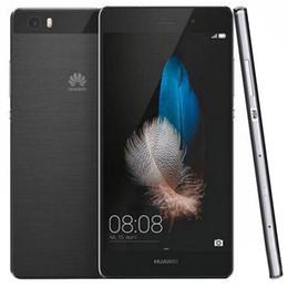 Опт Оригинал Huawei P8 Lite 4G LTE сотовый телефон Hisilicon Kirin 620 Octa Core 2 ГБ RAM 16 ГБ ROM Android 5.0 5.0inch HD 13MP OTG Смарт-мобильный телефон