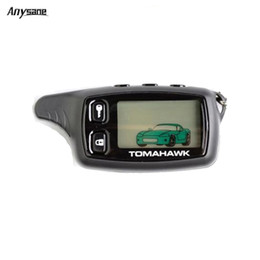 Security alarmS for carS online shopping - Anysane wireless remote control russia tomahawk tw9010 two way car alarm control system LCD remote keyfob for vehicle security