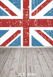 $enCountryForm.capitalKeyWord Canada - British flag wallpaper wooden floor photography background for wedding children baby computer printed vinyl backdrop for photo studio