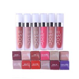 lips soc 2019 - Dose Of Colors Liquid Matte Lipstick Waterproof Lip Gloss Lipgloss 12 Colors SOC Waterproof Lipstick Newest