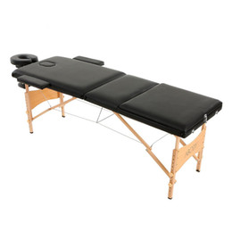 portable folding massage bed adjustable spa therapy tattoo beauty salon massage table bed with carrying bag ship from usa - Massage Table For Sale