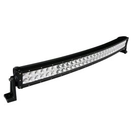 """China 32"""" 180W Curved 60 LED*3W Work Light Bar Offroad SUV ATV 4WD 4x4 Spot Flood Combo Beam 14400lm 12 24V Truck Jeep Trailer 4WD Fog Roof Lamp suppliers"""
