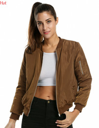 Discount Army Green Bomber Jacket Womens | 2017 Army Green Bomber ...
