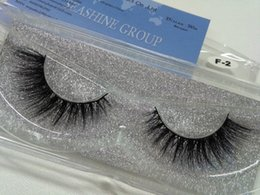luxury mink lashes Canada - Free shipping fashion style luxury 100% real mink strip lashes Hot Sale 3D lashes natural long soft mink lashes
