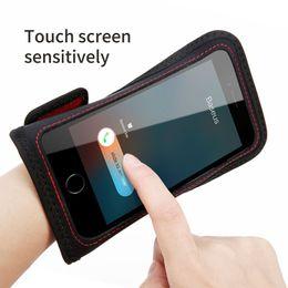 Baseus-Telefonarmbandkasten für iPhone 7 6s Sportarmband-Handy Abdeckung Laufende Armbandsport-Turnhalle Fall für Apple iPhone