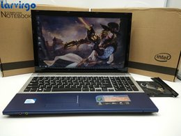Laptop Quad Core Hdmi Canada - 1920*1080P 15inch Gaming Laptop Notebook Computer Wtih DVD 8G DDR3 Ram 500G HDD in-tel Quad Core 2.0Ghz WIFI webcam HDMI