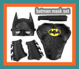 Make up filMs online shopping - Child Festival Birthday Gift quot Old Treatment Black quot Cosplay prop mask Halloween Make up Toy mask batman mask armor shield cloak wristband
