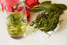 Chinese  [mcgretea]Good 2019 new handmade dragon well organic green tea, good quality Mingqian West Lake Longjing tea leaves 200g Gift Free shipping manufacturers