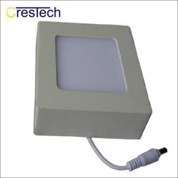 flat ceiling lamp 2019 - Indoor light Slim panel lamp LED Surface Mounted Light Panel Ceiling Light Ultra Slim Round Square Flat Panel discount f