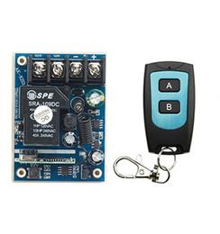 $enCountryForm.capitalKeyWord UK - Wholesale- New DC12V 24V 36V 48V 10A 1CH Radio Controller RF Wireless Relay Remote Control Switch 315 MHZ 433 MHZ Transmitter+Receiver
