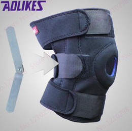 Wholesale Cheap Steel Plate Climbing Kneepad Black Rehabilitation Leg Knee Support Unisex Outdoor Kneepad Cycling Knee Brace
