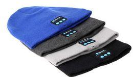 $enCountryForm.capitalKeyWord Canada - o Hot Men Women Soft Winter Beanie Hats Wireless Bluetooth Smart Cap Headphone Headset Speaker Mic Headgear Knitted Cap More Colour