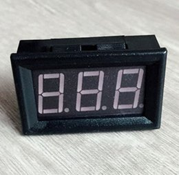 "module three NZ - by dhl fedex 100pcs lot 0.56 "" DC25-500V Car Digital Red LED voltage Panel Meter Voltmeter Module with Three-wire"
