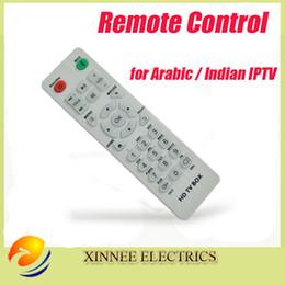 Indian Iptv Boxes NZ - Wholesale- 5 Pcs lot Universal Arabic iptv Remote Control Controller For arabic iptv box   indian iptv box