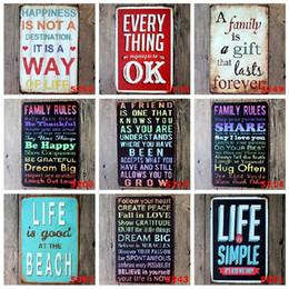 $enCountryForm.capitalKeyWord NZ - Saying Romantic Poetry tin sign Wall Decor Vintage Craft Art Iron Painting Tin Poster Cafe Shop Bar Club Home Decorate