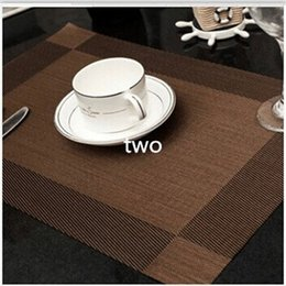 Wholesale Fasion Placemats Western Pad Slip Resistant Pvc Placemat Dining  Table Mat Eco Friendly Christmas Table Mat Kitchen Accessories Discount  Western ...