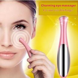 Elétrica Portátil Olho Térmico Massager Cuidados Com Os Olhos Beleza Dispositivo de Aparelho Remover Rugas Olheiras Puffiness Massagem Relaxamento em Promoção