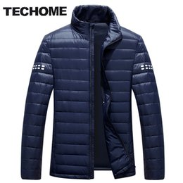 c5155f9e6c1 Wholesale- 2016 New Ultra Light Duck Down Jacket Men Feather Man Winter  Parka Coats Light Down Jacket Winter Long Sleeve Solid Winter Coats