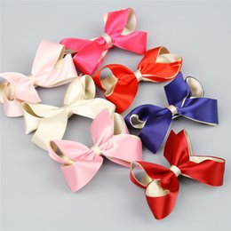 blue 6.5 Cute Pointed Toe Pin Buckle Candy Solid Color Flats ...
