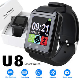 $enCountryForm.capitalKeyWord Australia - U8 Smart Watch Bluetooth Smartwatches Touch Screen Wirst Watches Without Altimeter For Android Smartphone IOS with Retail Package