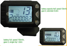 $enCountryForm.capitalKeyWord NZ - small size LCD display with thumb throttle shifter &controller for electric scooter ebike MTB speedview 36v48v250w350w -1000w