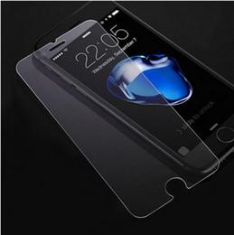 Para iphone 7 plus iphone 6 s plus 5 s samsung s8 s8 plus de alta qualidade filme de vidro temperado protetor de tela 0.2mm 2.5d navio dentro de 1 dia em Promoção