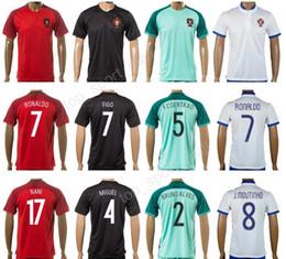 2017 soccer 7 cristiano ronaldo jersey make customized portugal football  shirt national team ... 9e2f31178d4