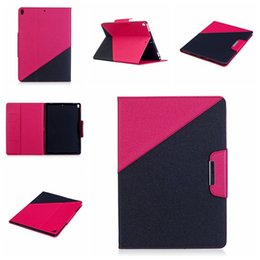 """$enCountryForm.capitalKeyWord Canada - For Ipad Pro 10.5"""" 2017 Version Ipad Pro 9.7"""" 2017 Version tablet Sand Leather Wallet Cases Pouch Bag Stand Credit Cards Luxury Cover 50pcs"""