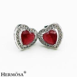 12531085ec9 Beautiful ruBy earrings online shopping - Beautiful Sterling Silver Natural  Gemstone Cherry Ruby Garnet Amethyst White