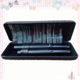 unique mascara Canada - Top Quality newest version 5223 Barcode unique 1 sets =2 pcs MASCARA 3D FIBER LASHES Black waterproof double mascara Free DHL Shipping