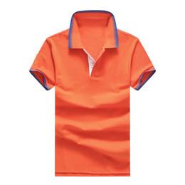 Orange And White Button Down Shirt - Greek T Shirts